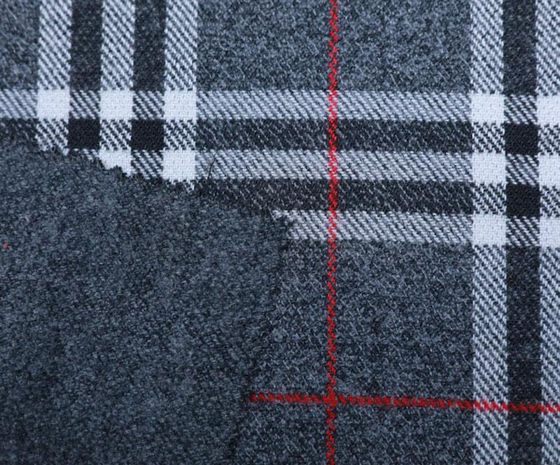格子布 1010(T/R梭织面料、大衣、格子)