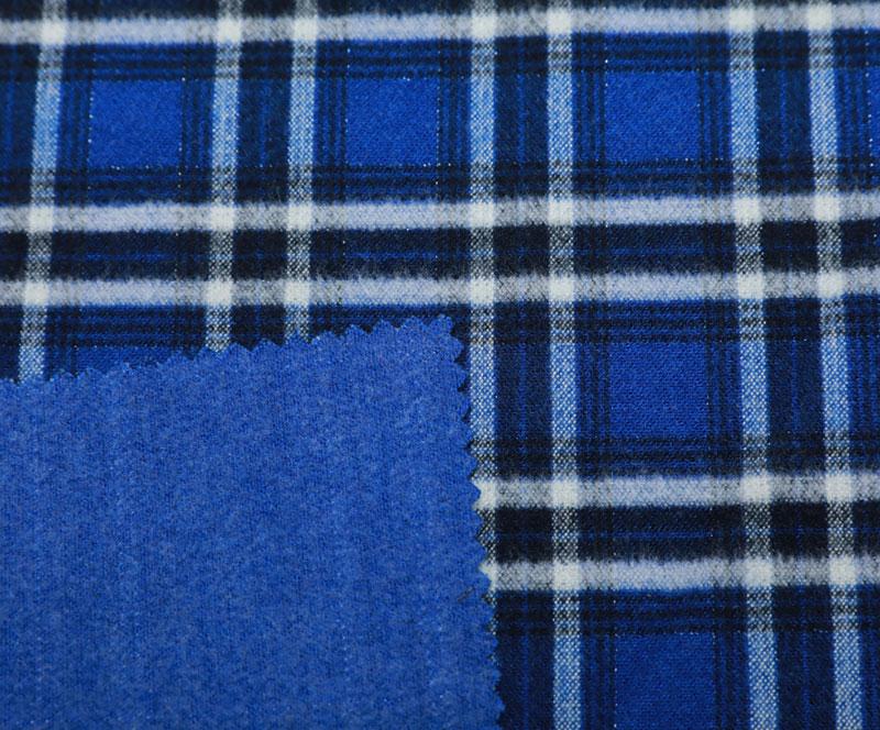 格子布 1058(T/R/SP梭织面料、大衣、格子)