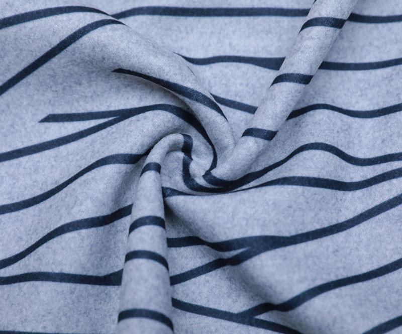 拉毛布 1068-B 印花(T/R/SP梭织面料、拉丝、大衣、印花)