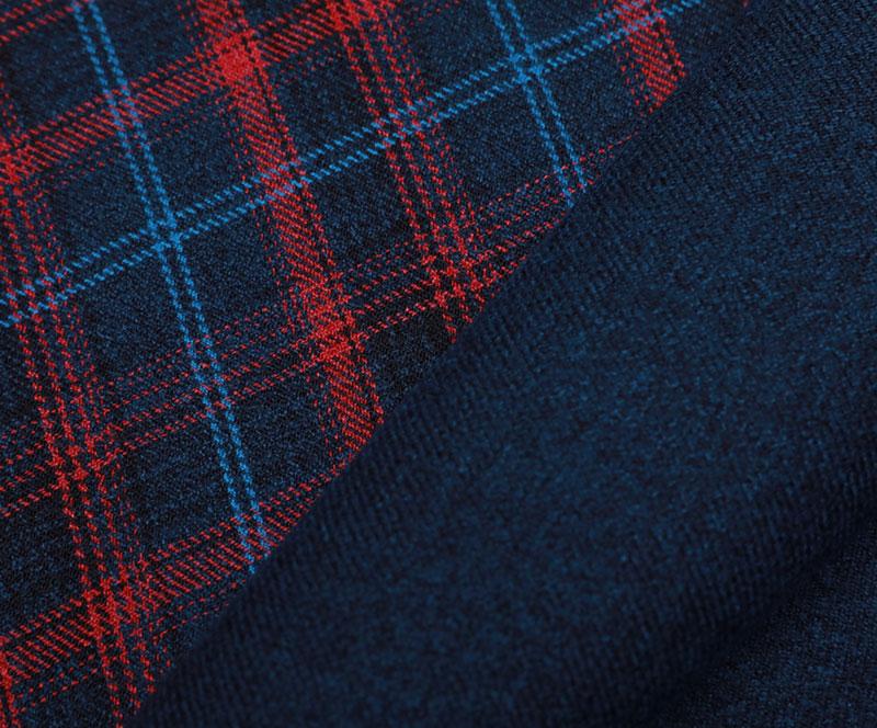 格子布 1088(T/R梭织面料、大衣、格子)