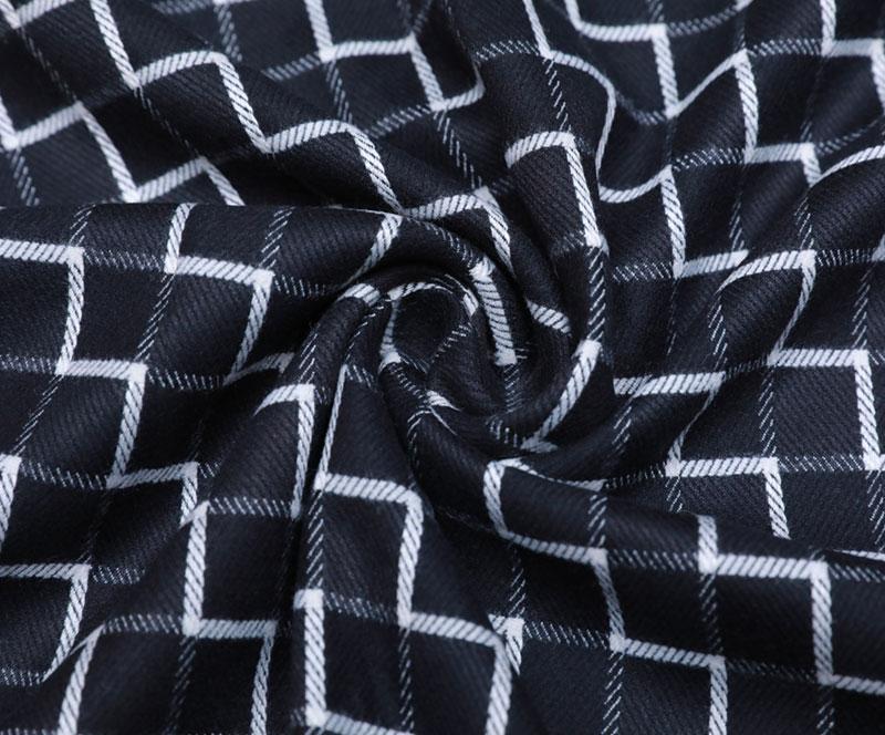 格子布 1360(T/R/SP梭织面料、衬衫、裤子)