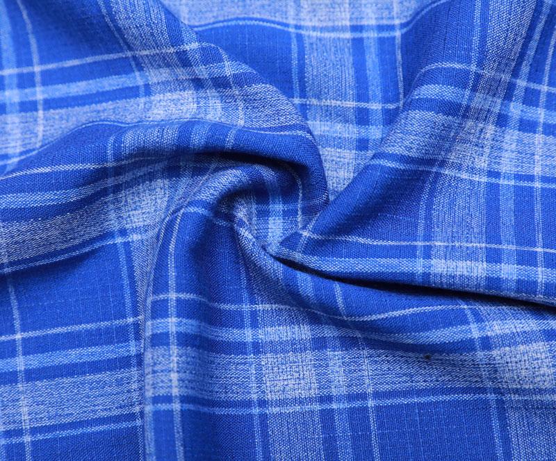 格子布 1450-15(T/R/SP梭织面料、衬衫、裤子)