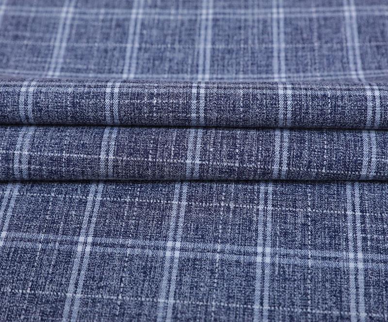格子布 1450-3(T/R/SP梭织面料、衬衫、裤子)