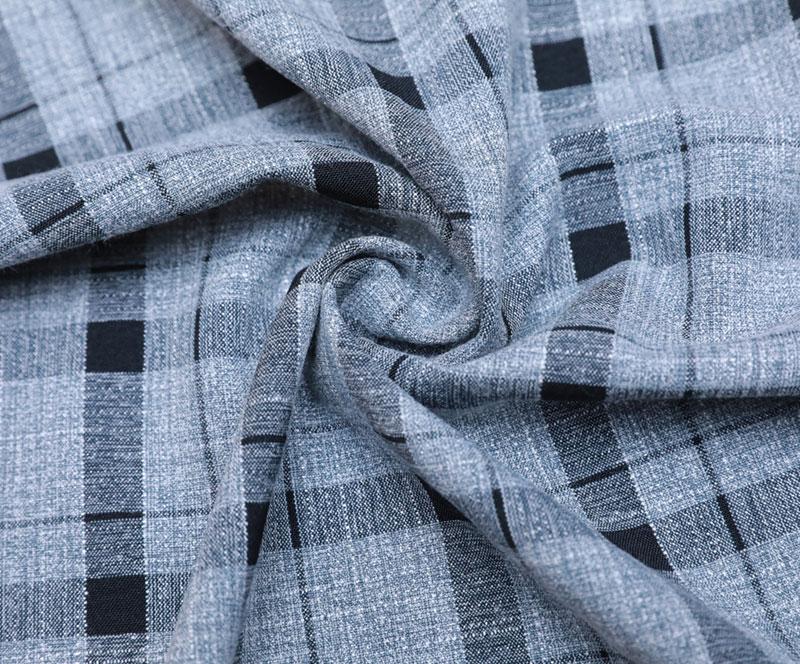 格子布 1850-1(T/R/SP梭织面料、衬衫、裤子)