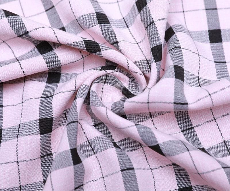 格子布 1850(T/R/SP梭织面料、衬衫、裤子)