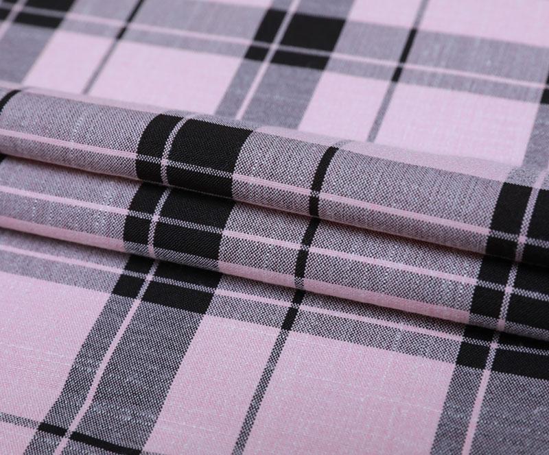 格子布 1850-3(T/R/SP梭织面料、衬衫、裤子)
