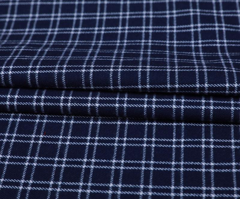 格子布 2219(T/R/SP梭织面料、衬衫、裤子)