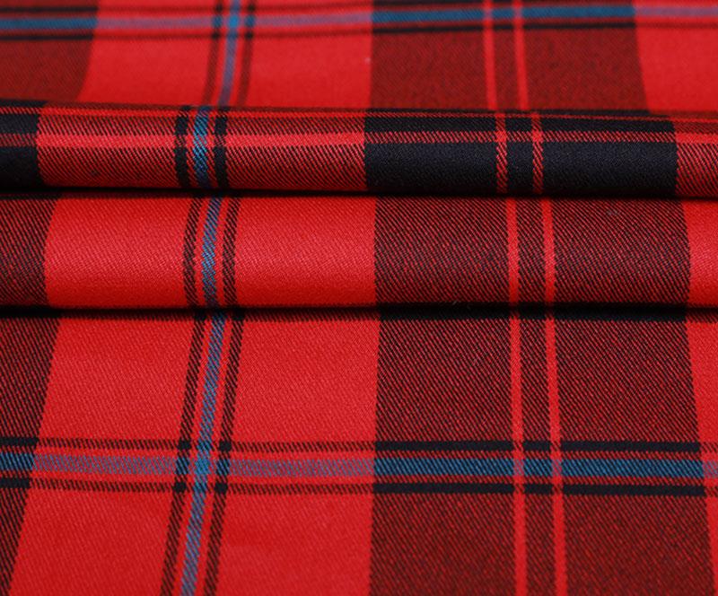格子布 2226(T/R/SP梭织面料、衬衫、裤子)