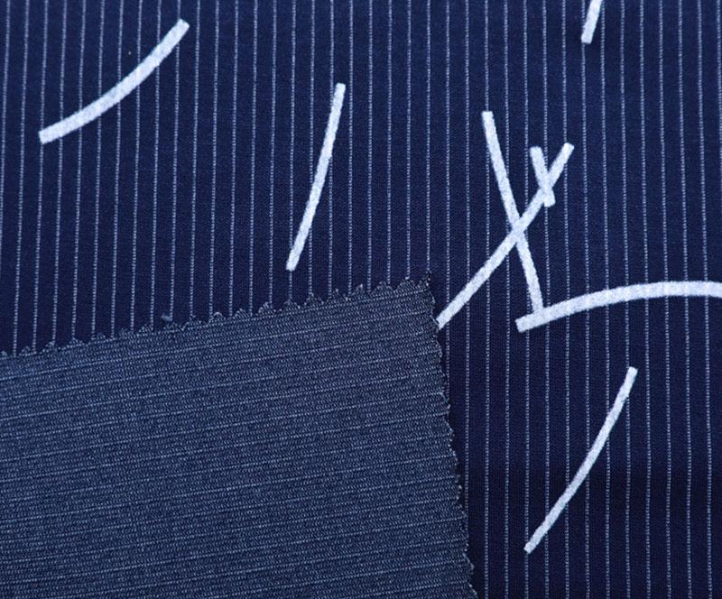 针织布 3068-B 4-1(R/T/N/SP针织面料、西装、条纹、植绒)