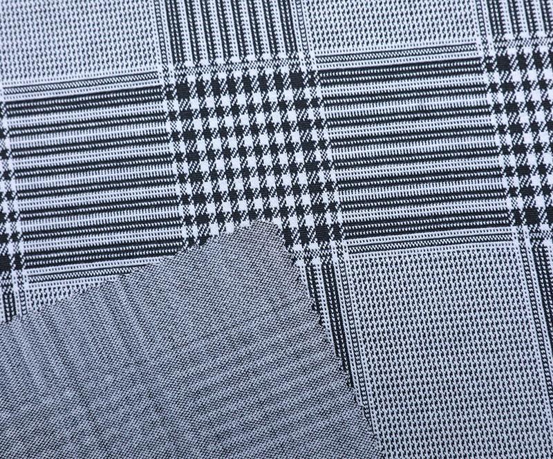 针织布 3298(T/R/SP针织面料、西装、裙子、格子)